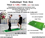 Fodboldspil  Trick Kick incl. Wings Of Freedom
