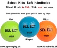 Select Kids Soft Håndbolde