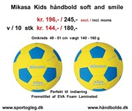 Mikasa Kids Håndbold Soft and smile