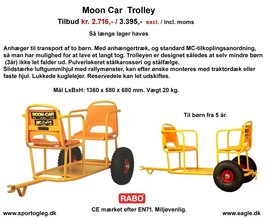 Moon car m.m. - Tilbud & priser - BKH Sport og Leg, Rødovre