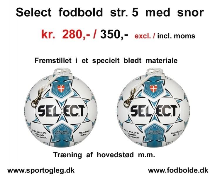 Select fodbold str 5
