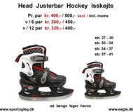 Head Justerbar Hockey isskøjte