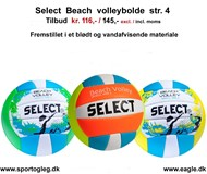 Select Beach Volleybolde Tilbud