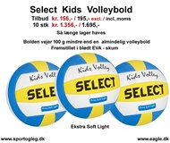 Select Volleybold Kids Tilbud