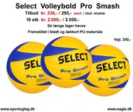 Select  Volleybold  Pro Smash  Tilbud