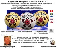 EAGLEHAWK  Wings Of Freedom  size. 4 - 5 Special Price