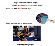 Stiga Bordtennisbat Fight Tilbud