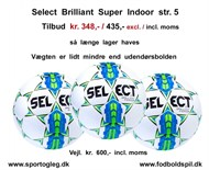 Select Brilliant Super Indoor str. 5 Tilbud  ( PT  Udsolgt )