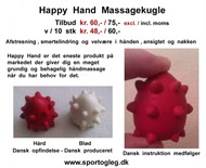 Happy Hand Massagekugle