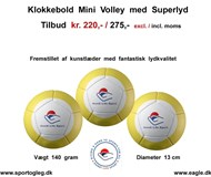 Klokkebold Mini Volley med Superlyd