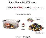 Plus Plus Mini Mix 6000 ass
