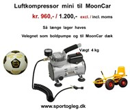 Luftkompressor Mini til MoonCar