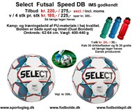 Select  Futsal  Speed  Tilbud