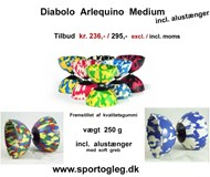 Diabolo Arlequino medium