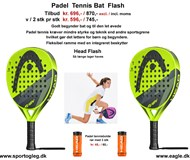 Padel Tennis Bat Head Flash