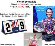 Badminton Point Tavle fra Victor